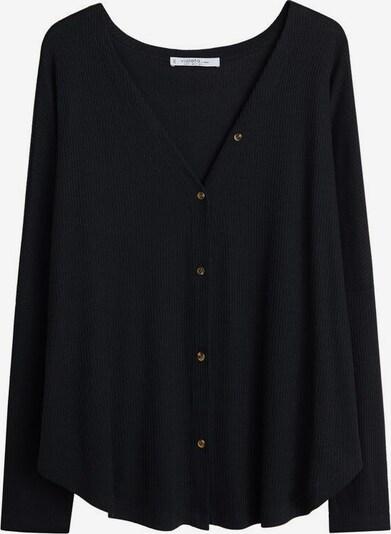 VIOLETA by Mango T-shirt 'charlot' en noir, Vue avec produit