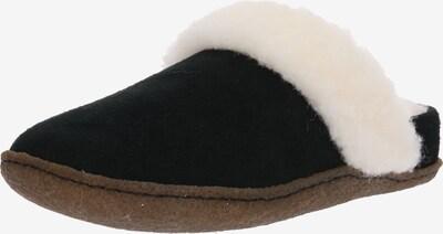 SOREL Pantolette 'Nakiska' in schwarz / weiß, Produktansicht