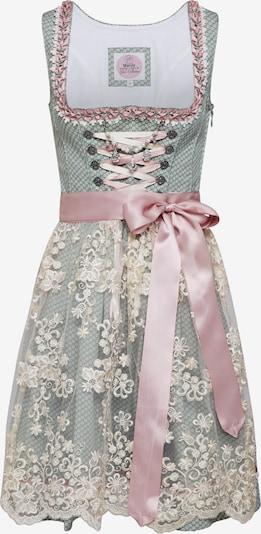 MARJO Kleid 'Naja 55' in creme / mint / altrosa, Produktansicht