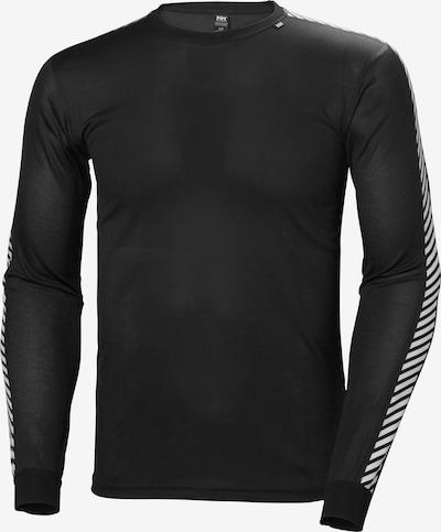 HELLY HANSEN Shirt 'Dry Stripe Crew' in schwarz / weiß, Produktansicht