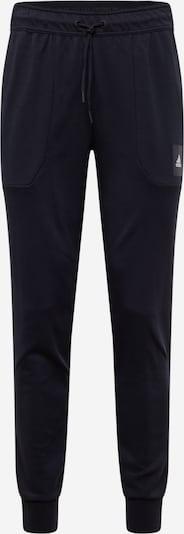 ADIDAS PERFORMANCE Športové nohavice - čierna: Pohľad spredu