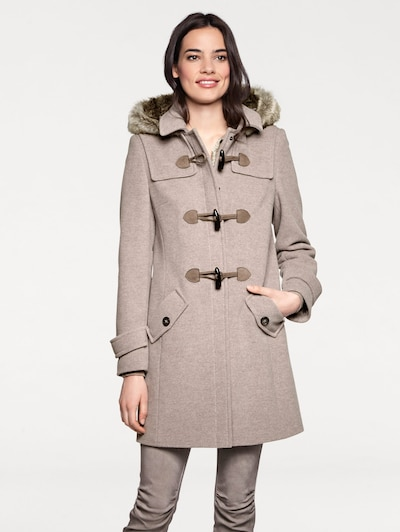 heine Winter coat in Taupe, Item view
