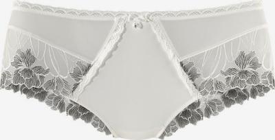 LASCANA Panty in schwarz / offwhite, Produktansicht