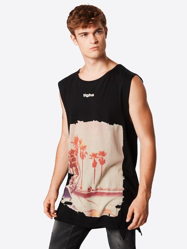 'leano' Noir En Tigha T shirt TZOXikPu