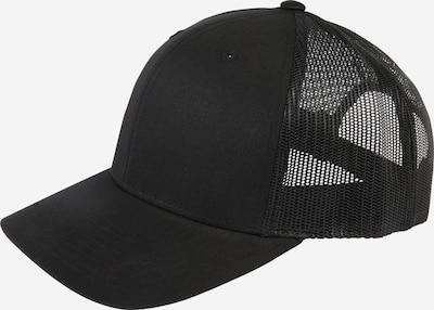Flexfit Pet 'Retro Trucker ' in de kleur Zwart, Productweergave