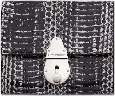 Calvin Klein Geldbörse in schwarz / weiß, Produktansicht
