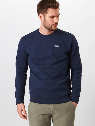 PATAGONIA Sweatshirt 'M's P-6 Label Uprisal' in navy, Produktansicht