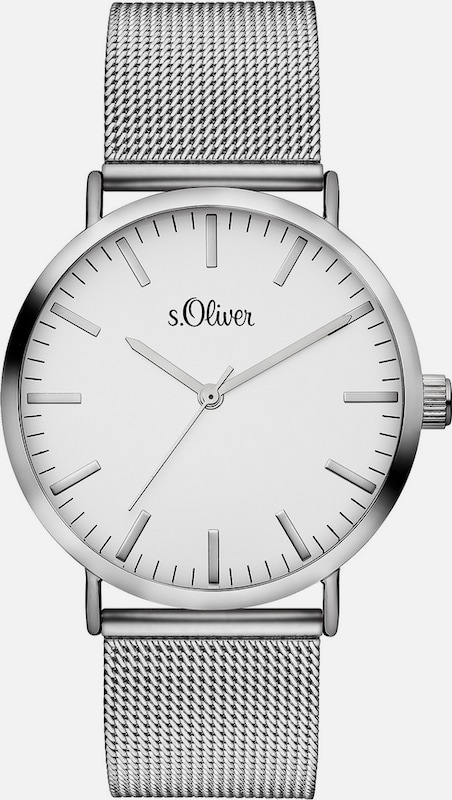 s.Oliver RED LABEL Armbanduhr, »SO-3145-MQ«