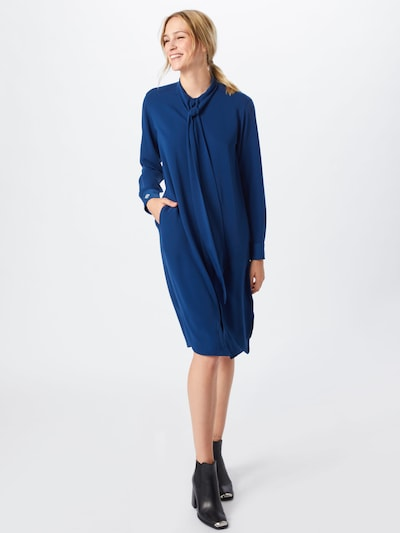 POLO RALPH LAUREN Kleid 'LS IVY DR-LONG SLEEVE-CASUAL DRESS' in blau, Modelansicht
