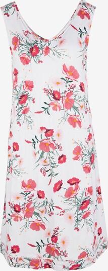 s.Oliver Kleid in khaki / rosa / pitaya / weiß, Produktansicht