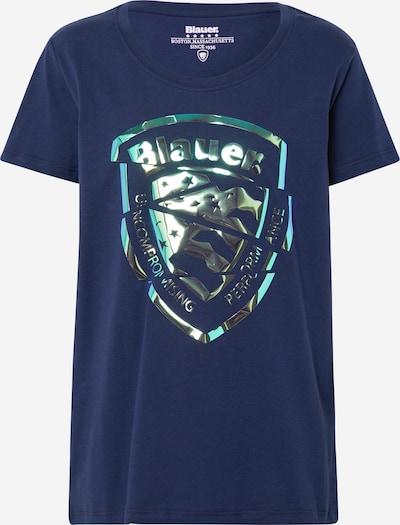 Blauer.USA Shirt 'MANICA CORTA' in nachtblau, Produktansicht