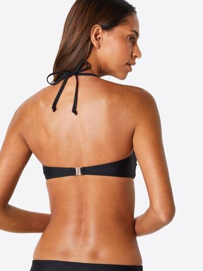 ABOUT YOU Bikini Top 'Melanie' in schwarz: Rückansicht