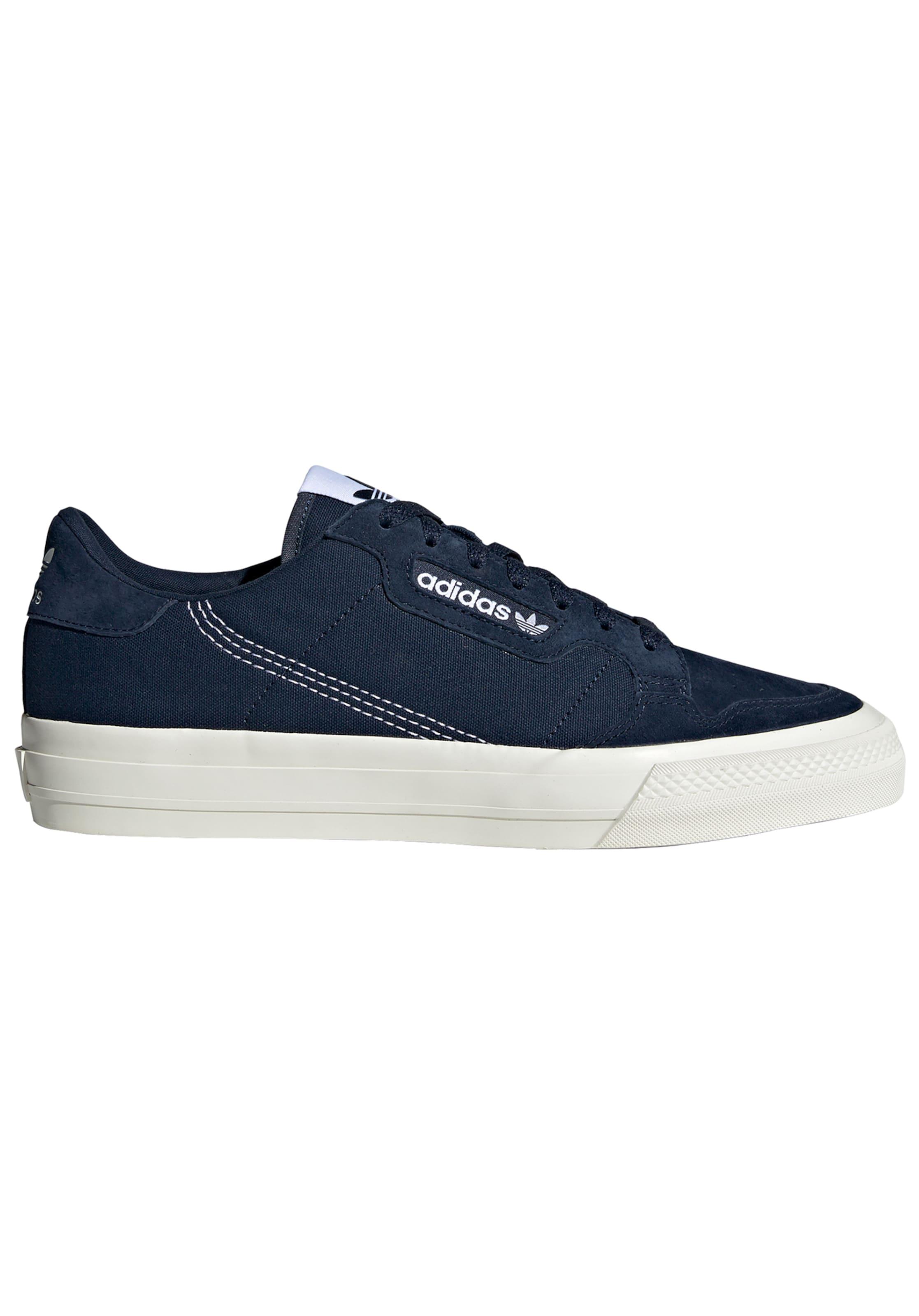 Vulc' En Basses 'continental MarineBlanc Originals Adidas Baskets Bleu E9e2WDIYH