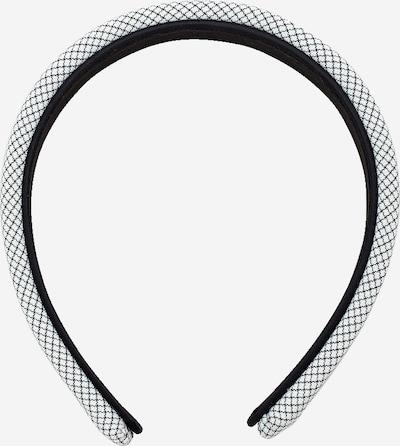 EDITED Ornement pour cheveux 'Hallie' en noir / blanc, Vue avec produit