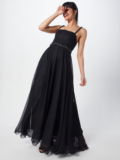 MICHALSKY FOR ABOUT YOU Kleid 'Melody' in schwarz: Frontalansicht