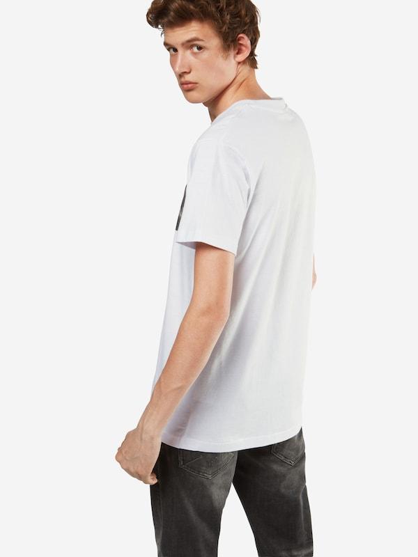 shirt GrisBlanc En Tee Mister T 'pray' ZP8nON0wkX
