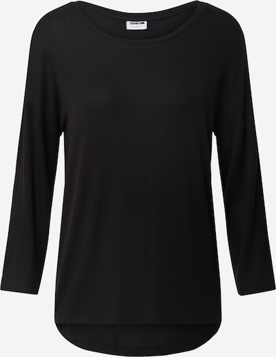 Noisy may Shirt 'HENLEY' in schwarz, Produktansicht