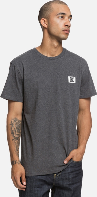 DC Shoes Stage Box T-Shirt in dunkelgrau, Produktansicht