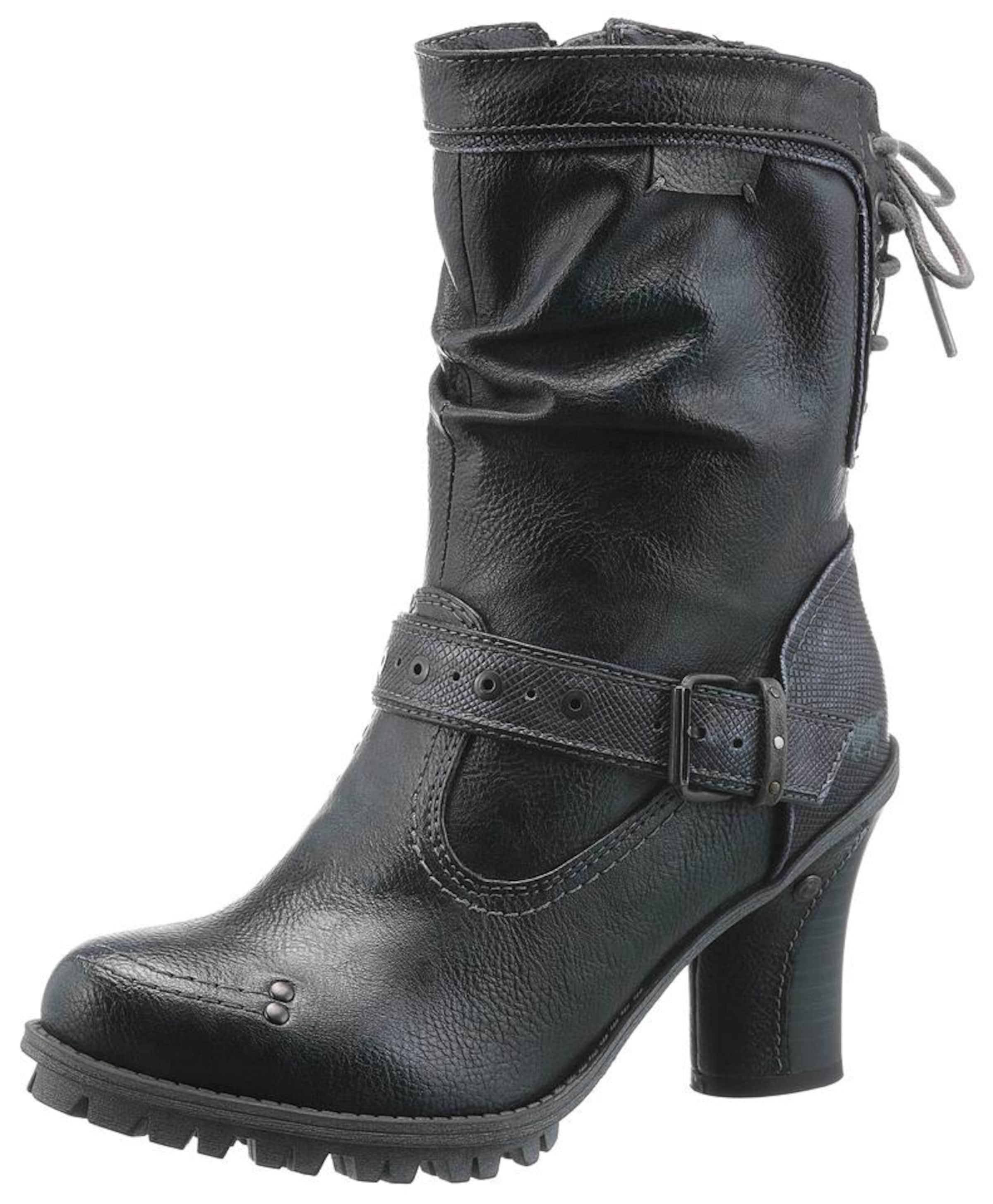 MUSTANG Shoes Schnürstiefel Verschleißfeste billige Schuhe