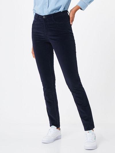 BRAX Spodnie 'Mary' w kolorze granatowym, Podgląd na modelu(-ce)