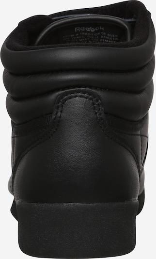 Reebok Classics High-Top Sneakers in Black: Rear view