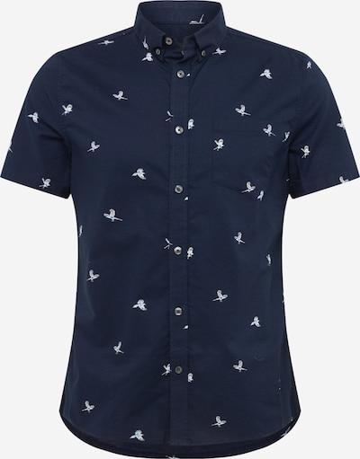 BURTON MENSWEAR LONDON Overhemd 'SPRING BIRD' in de kleur Navy, Productweergave