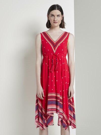 TOM TAILOR Kleid in rot, Modelansicht
