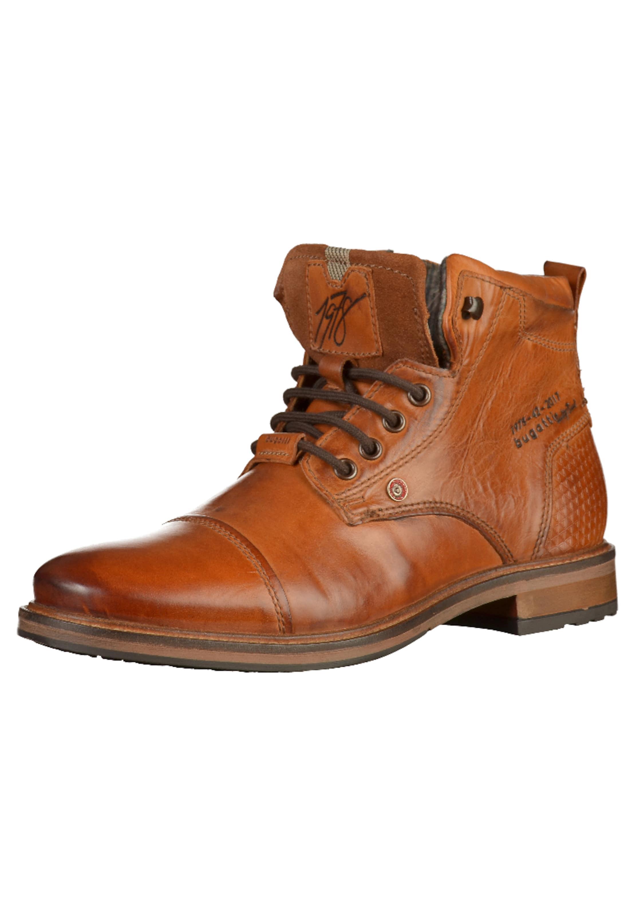 bugatti Marcello Schnürstiefeletten Verschleißfeste billige Schuhe