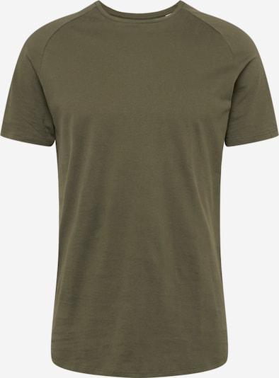JACK & JONES T-Shirt en vert foncé, Vue avec produit
