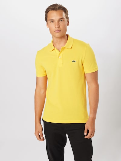 LACOSTE T-Shirt en jaune, Vue avec modèle