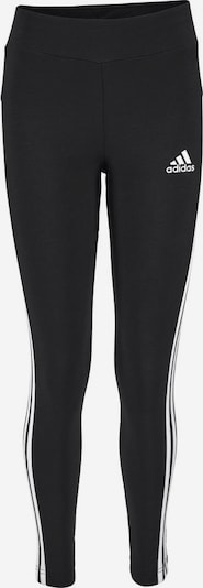 ADIDAS PERFORMANCE Leggings 'YOUNG GIRL 3STRIPES TIGHT' in schwarz, Produktansicht