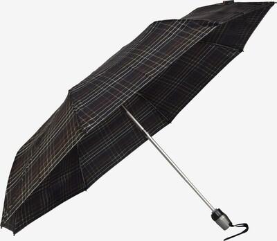 KNIRPS Regenschirm in rot / schwarz / weiß, Produktansicht