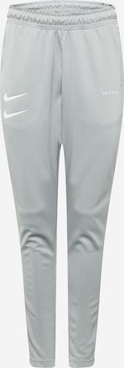 Nike Sportswear Trainingshose in graumeliert / weiß, Produktansicht