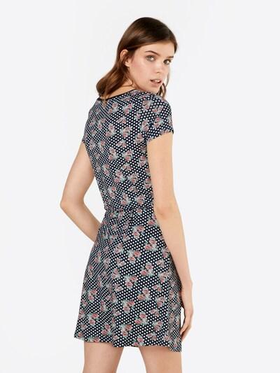 MICHALSKY FOR ABOUT YOU Kleid 'Liza' in blau / mischfarben: Rückansicht