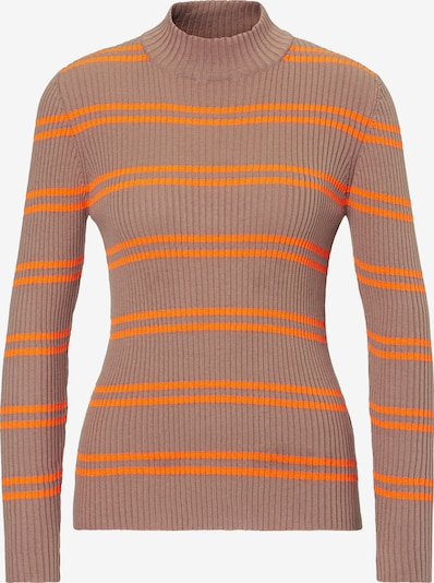Marc O'Polo DENIM Pullover in taupe / orange, Produktansicht