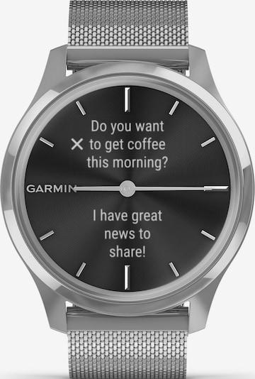 GARMIN Uhr 'Vivomove Luxe' in schwarz / silber, Produktansicht