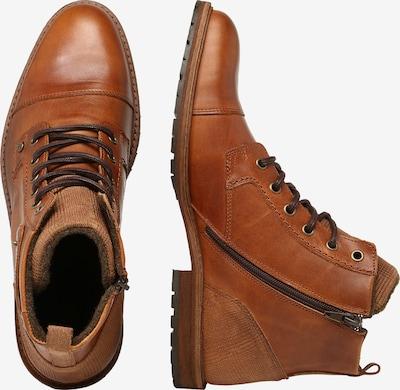 Auliniai batai su kulniuku iš BULLBOXER , spalva - ruda (konjako): Vaizdas iš šono