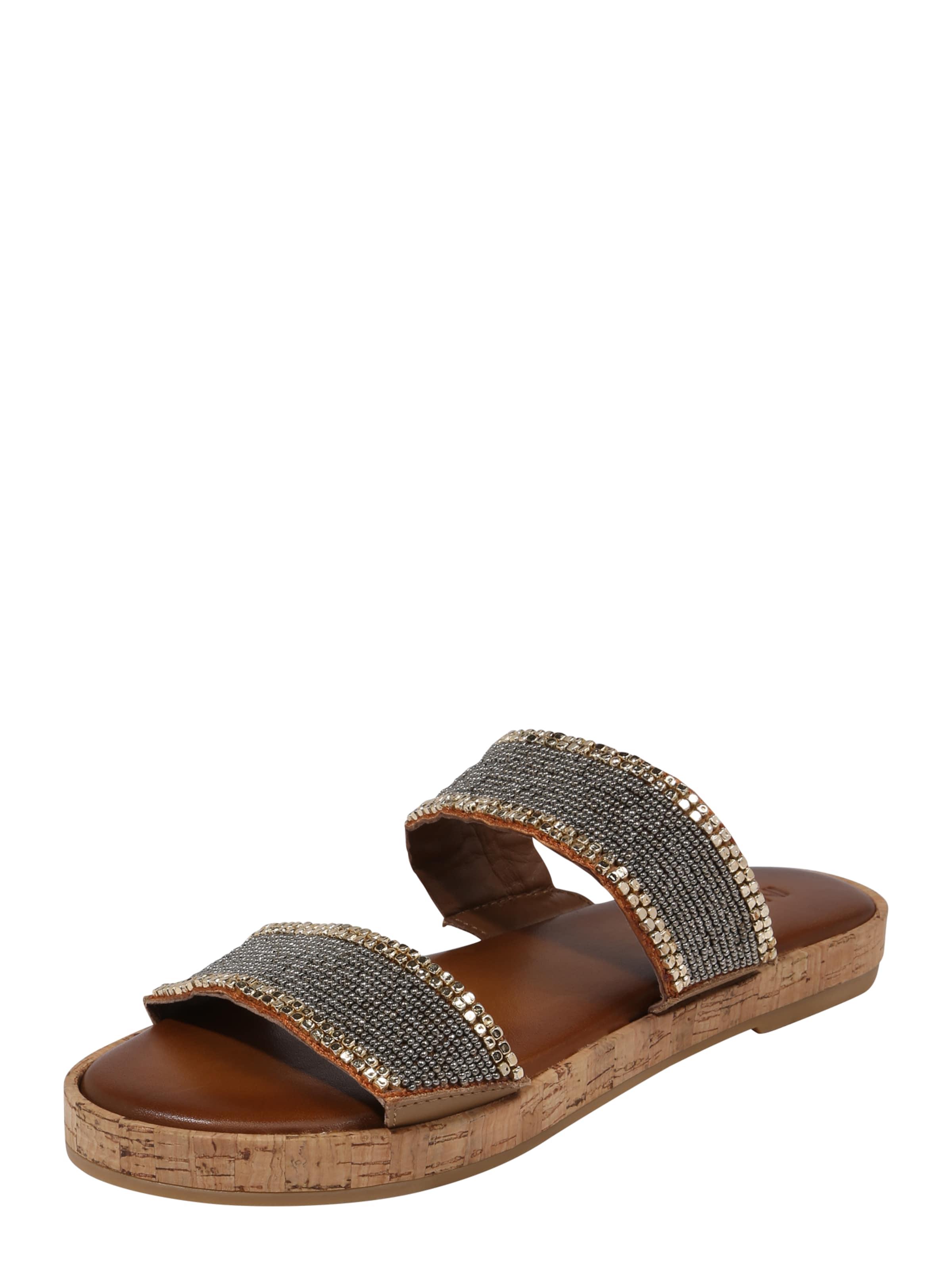 INUOVO Sandalen mit Glitzersteinbesatz Verschleißfeste billige Schuhe