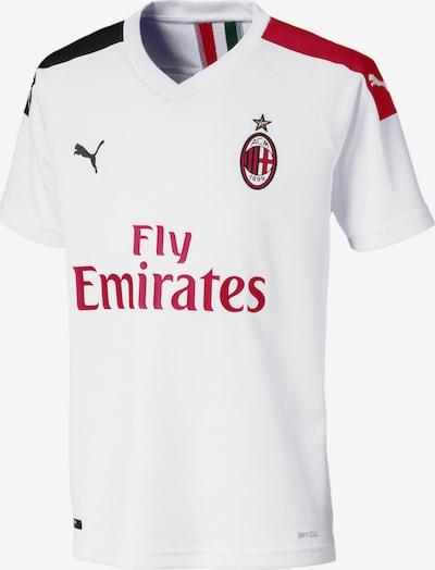 PUMA Shirt 'AC Milan' in fuchsia / rot / schwarz / weiß, Produktansicht