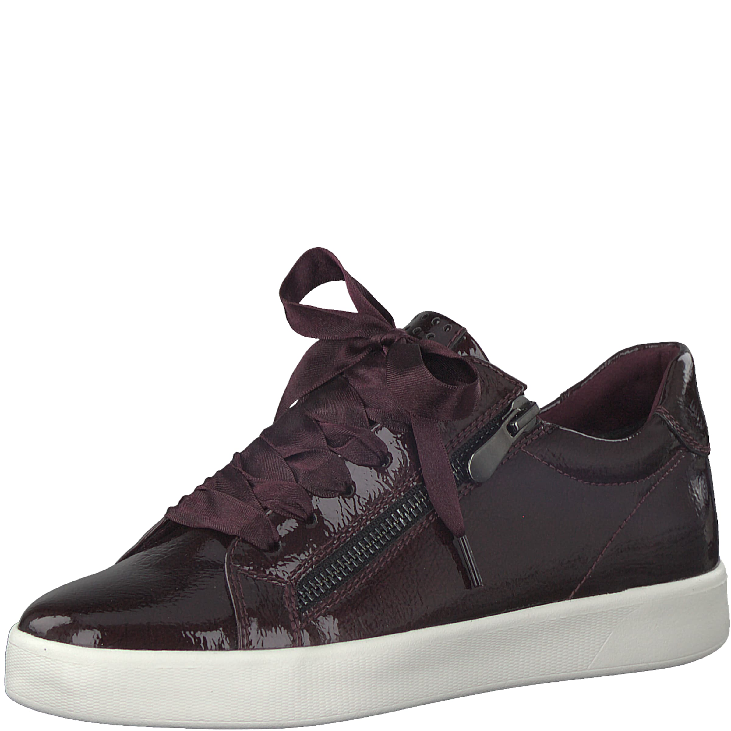 MARCO TOZZI Sneaker low  One colour shiny