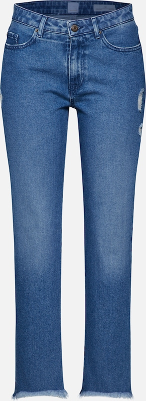 BOSS Jeans 'J30 Covelo' in blue denim: Frontalansicht