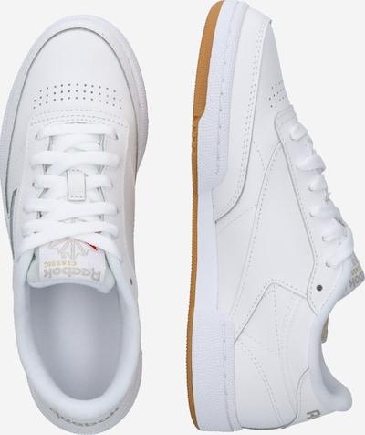 Reebok Classic Sneaker 'CLUB C 85' in weiß: Seitenansicht
