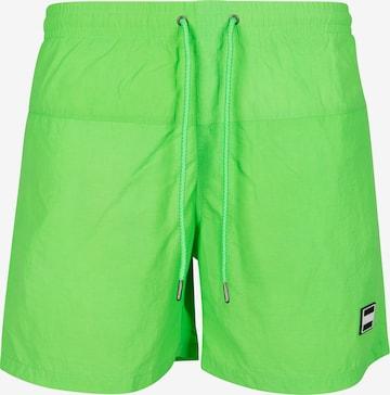 Urban Classics Board Shorts in Green