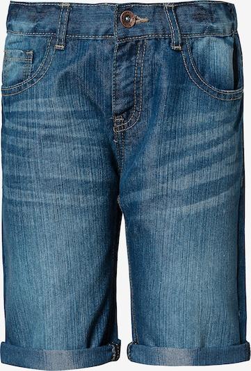 STACCATO Shorts in blue denim: Frontalansicht