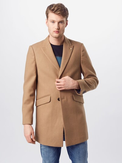 BURTON MENSWEAR LONDON Mantel 'CROMBIE' in camel, Modelansicht