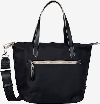 TOM TAILOR DENIM Shopper 'Jenni' in schwarz, Produktansicht