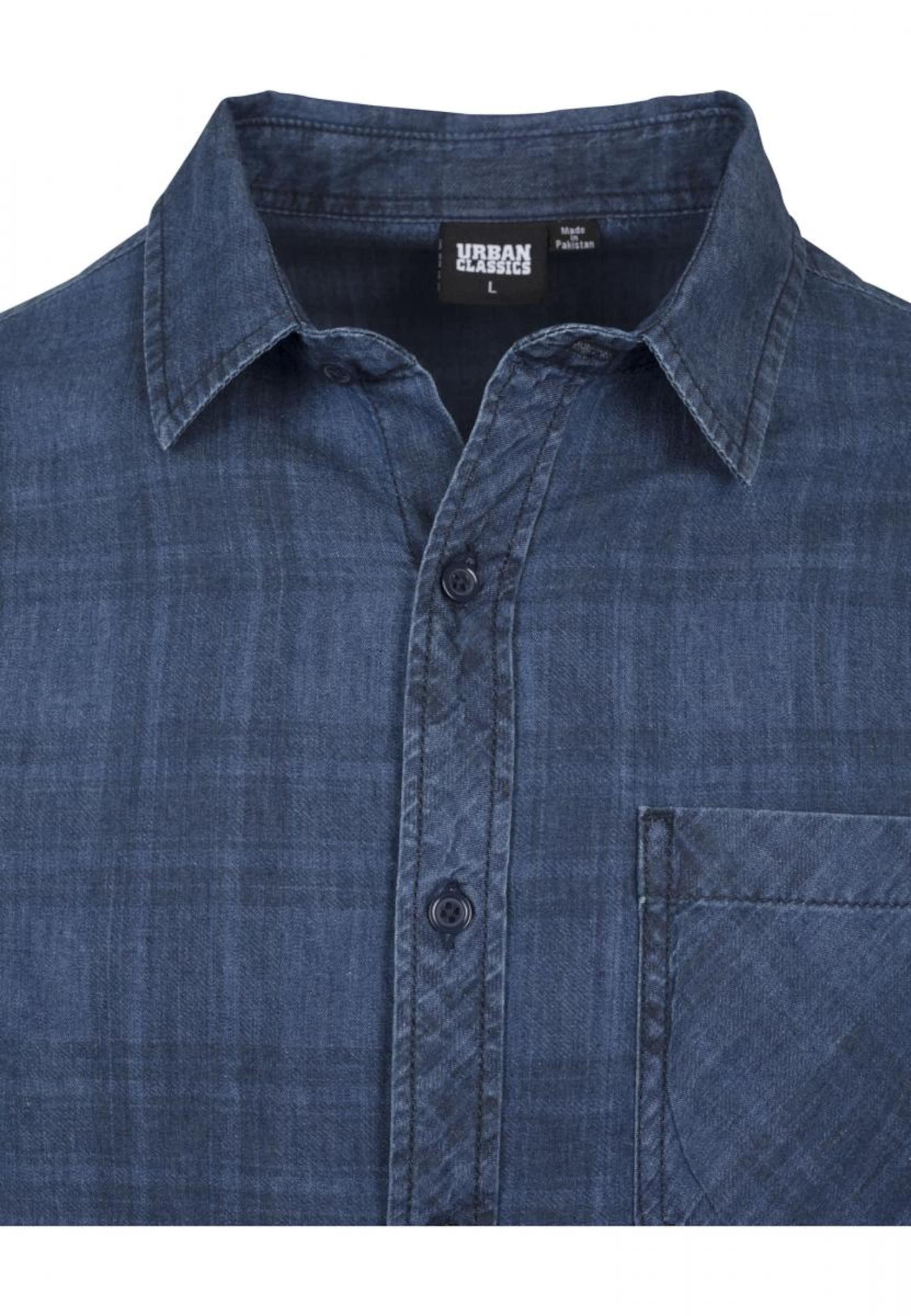 'check' Classics Blue In Shirt Urban Denim O80wnkXP