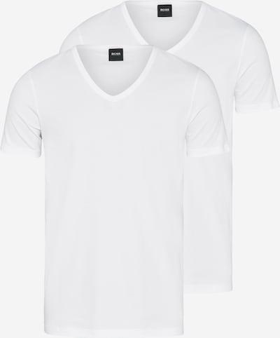 BOSS T-Shirt 'VN 2P CO/EL' in offwhite, Produktansicht