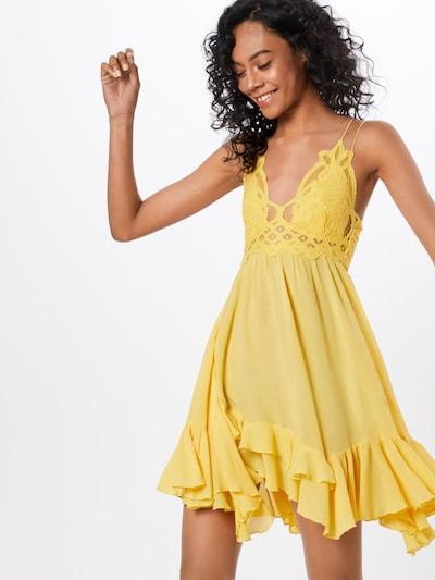 Free People Kleid 'Adella' in gelb, Modelansicht