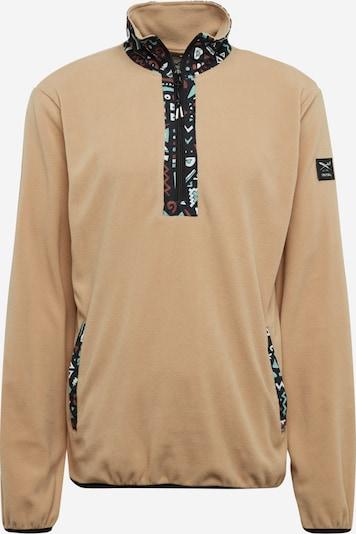 Iriedaily Sweat-shirt 'Ninetynine' en beige / menthe / noir, Vue avec produit